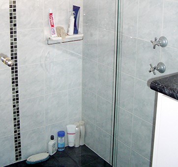Scumbags shower clean and seal your calcium hard water stain removal professional in perth - Shower glass protection ...